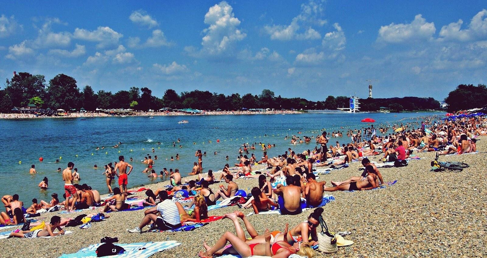 Пляжи на реках - путеводитель по сербии.