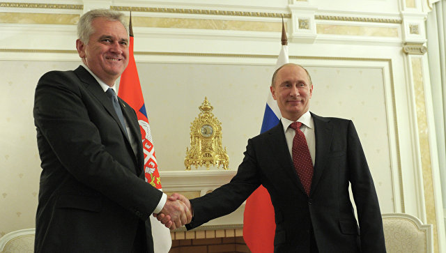 Орден Дружбы вручён экс-президенту Сербии
