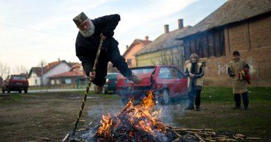 Сегодня Беле покладе или масленица по-сербски