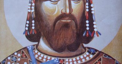 Царь Лазарь в Кингисеппе (сербский язык)