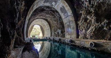 По следам подземных военных сооружений Югославии.