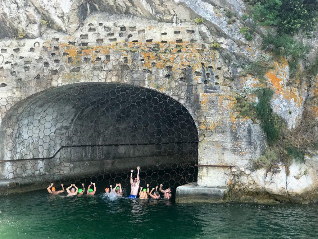 Swimming Hitler Eye Tunnel Sibenik Croatia 1